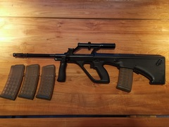 Steyr Aug = Gereserveerd Kevin S (BE)